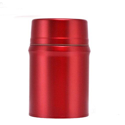 700ml Geschmierte Becher-Edelstahl-Isolierungs-Schalen-Studenten-bewegliche Nahrungsmittelflasche , 700ml tuhao gold , 700ml