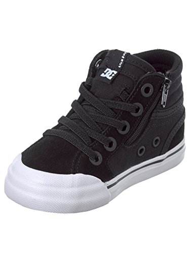 Chaussures DC Evan Hi Toddler's Black Bl0 Noir