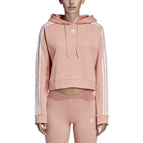 Scott Weiß Logo (adidas Originals Women's Cropped Hoodie)