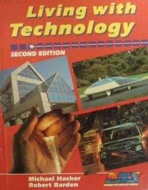 Living With Technology (Delmar technology series) by Michael Hacker (1992-01-30) par Michael Hacker;Robert Barden