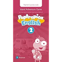 Poptropica English Level 2 Teacher's Online Game Access Card for pack