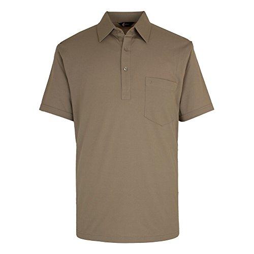 Gabicci - Polo - - Uni - Col chemise classique Homme - Beige - Stone - moyen