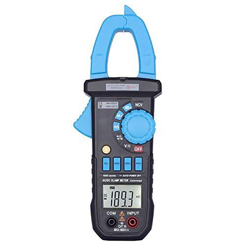 ANMJJ Digital-Multimeter Temperaturtester Auto-Ranging Auto Voltmeter Hochpräzises Amperemeter HD LCD-Anzeige AC/DC-Elektrikertest Multimeter Berührungslose Spannungsdetektor