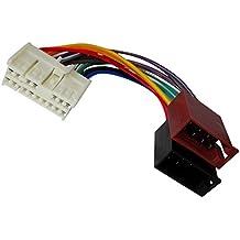 AERZETIX: Adaptador cable enchufe ISO para autoradio de coche vehiculos C12049