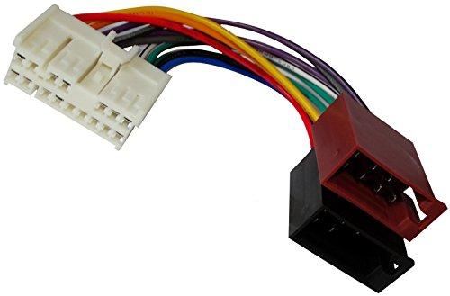 Spectra-adapter (Aerzetix - ISO-Konverter - Adapter - Kabel Radioadapter Radio Kabel Stecker ISO-Kabel Verbindungskabel)