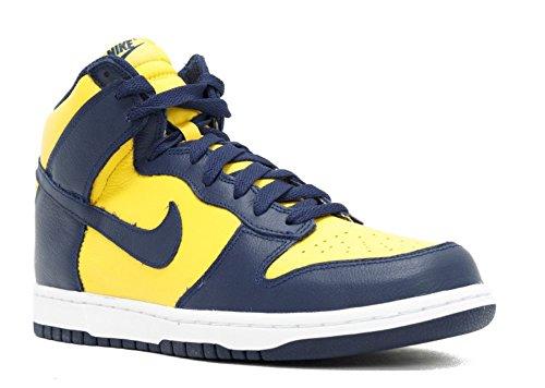 Nike , Baskets mode pour homme black white 011 45 EU varsity maize, midnight navy