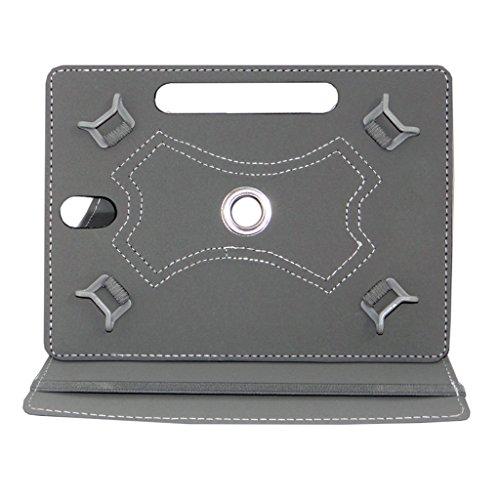 Acm Rotating 360° Leather Flip Case For Lenovo Phab Plus Cover Stand Black