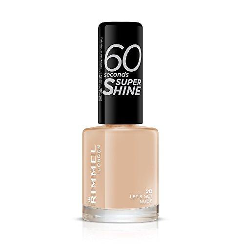 Rimmel Queen Of Tarts, 60 Seconds Super Shine Nail Polish, Pink, 8 ml