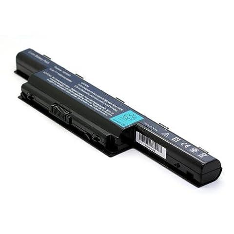 Batterie compatible pour ordinateur PC Portable Packard Bell EasyNote LM85 LC.BTP00.127, 10.8V 4400mAh, NOTE-X /