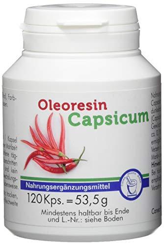 Pharma-Peter OLEORESIN Capsicum Kapseln, 120 Kapseln -
