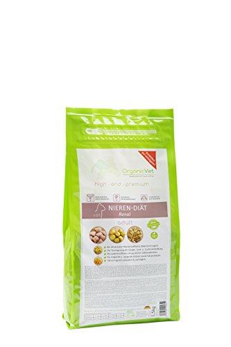 ORGANICVET Katze Trockenfutter Veterinary Nieren-Diät, 1er Pack (1 x 1.5 kg)