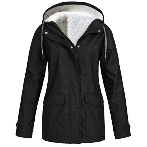 TIMEMEAN Waterproof Women Coats Ladies Long Sleeve Outdoor Hooded Winderproof Jacket