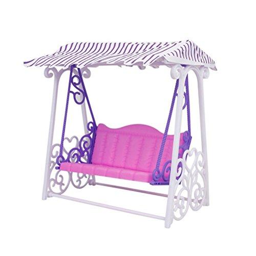 PIXNOR giardino plastica Yard gioco altalena per bambole