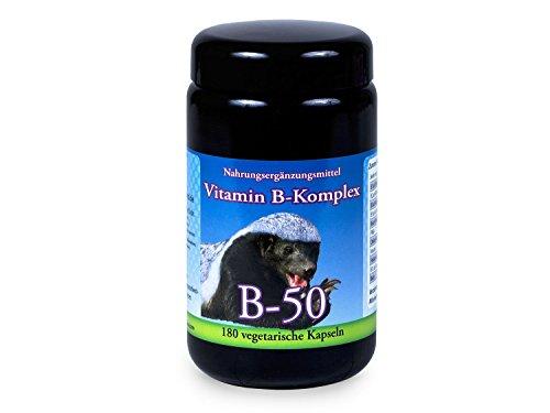 Robert Franz – Vitamin B-Komplex B-50 (180 Kapseln)