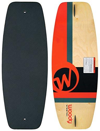 MESLE WAKETEC Wakeskate Woody 43'', 110 cm EVA Flat-Deck Board bis 95 kg