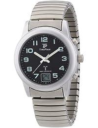 Time Piece Damen-Armbanduhr Funk Zugband Analog Quarz Edelstahl TPLA-10240-22M