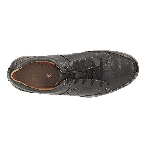 Clarks Unlomac lace Black Leather