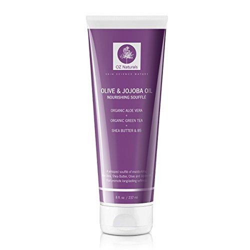 OZ Naturals - Le meilleur soin hydratant pour le corps - Contien du beurre de Karité bio, de l'huile de Jojoba - Vitamine C + Acides aminés + Acide Hyaluronique - laisse votre peau saine, nourrie et plus fraiche.