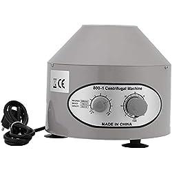 Centrifugeuse Laboratoire Mini Centrifugeuse Électrique Centrifugeuse ProfessionnelleVitesse RéglableFiches Standard Européennes 4000rpm