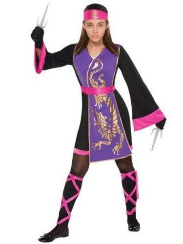 Veka Garments Sassy Samurai Kostüm für Kinder und Jugendliche (Schneewittchen-kostüme Jugendliche Für)