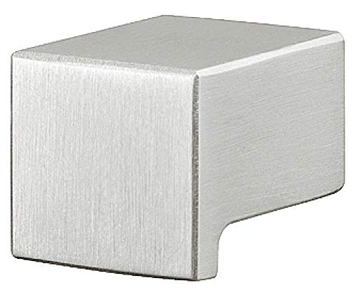 Gedotec Möbel-Knopf für Vitrine Küchengriff Küche Schubladen-Griff für Kleider-Schrank | H3740...