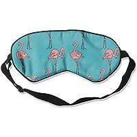 Flamingos Pattern1 Natural Silk Sleep Mask Comfortable Smooth Blindfold for Travel, Relax preisvergleich bei billige-tabletten.eu