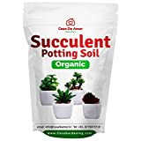 Casa De Amor Succulents Potting Soil 100% Organic Special Research Based Formula