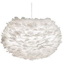 Lampe Eos XL Umage Weiß Pendelleuchte Pendellampe Hängeleuchte Hängelampe Design