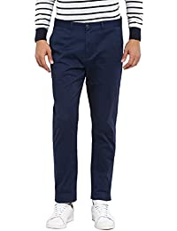 Red Tape Men's Solid Casual Trouser