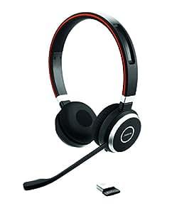 "EVOLVE 65 UC Duo, Bluetooth""MS Optimized, USB via Dongle"