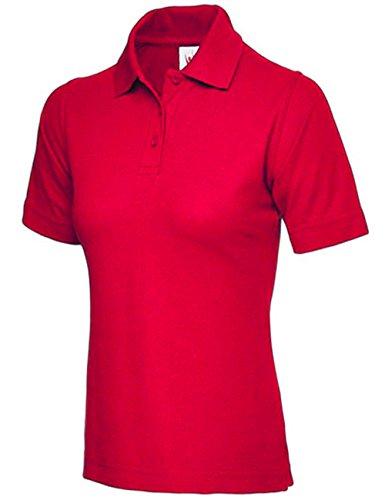 Ladies Premium Polo Shirt Size UK 8 to 26 Plus All Colours NEW UK Stock