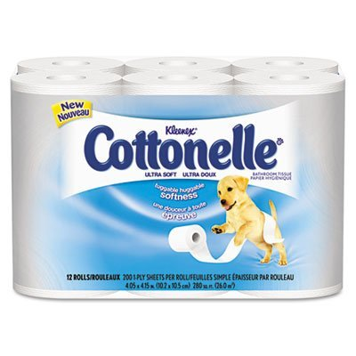 kleenex-cottonelle-ultra-soft-bath-tissue-1-ply-165-sheets-roll-48-carton-sold-as-1-carton