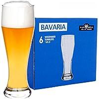 Juego de 6Bavaria Trigo cerveza 0,5l calibrado
