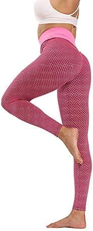 Womens High Waist Yoga Pants Workout Running Leggings