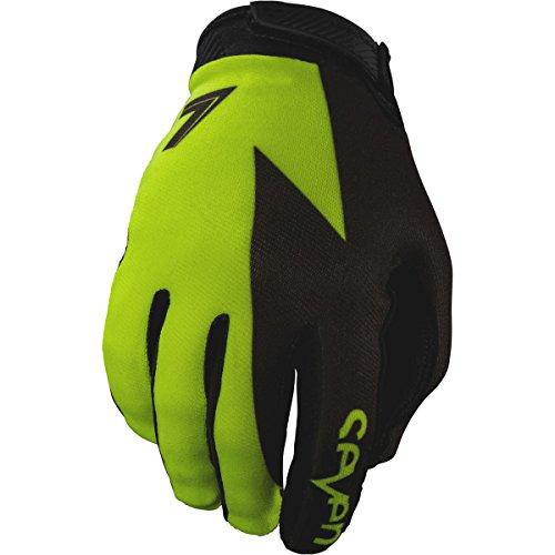 Sieben MX 17,1Annex Volt Erwachsene Handschuh, Flo Gelb, Größe L - Fox Racing Mädchen Handschuh