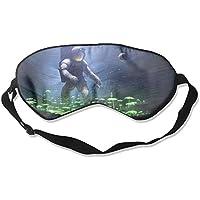 Eye Mask Eyeshade Astronaut Biologist Sleep Mask Blindfold Eyepatch Adjustable Head Strap preisvergleich bei billige-tabletten.eu