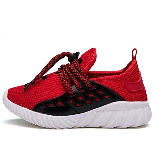 chaussures pour enfants/Boys' mesh chaussures de basket-ball/chaussures de course respirante B