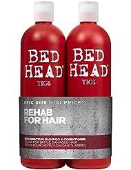 Tigi BED HEAD Tween Duo Shampoo and Conditioner Resurrection, 1er Pack (2 x 750ml)