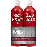 Bed Head by Tigi Urban Antidotes Resurrection Repair Shampoo and Conditioner, 750 ml, Pack of 2