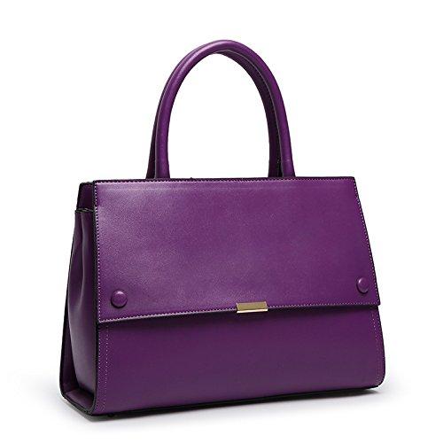 X&L Women's geschleudert Mode Handtasche Umhängetasche Purple