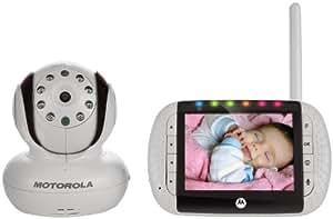 Binatone MBP 36 Video Baby Monitor 3.5 INCH Screen - White
