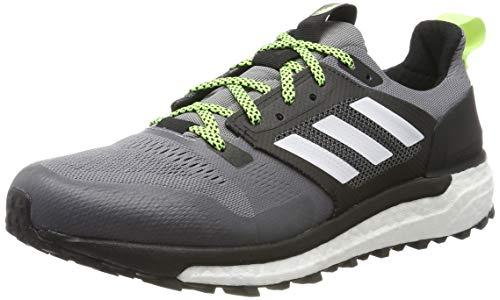 adidas Supernova, Scarpe da Trail Running Uomo, Grau (Grey/Footwear White/Core Black 0), 44 2/3 EU
