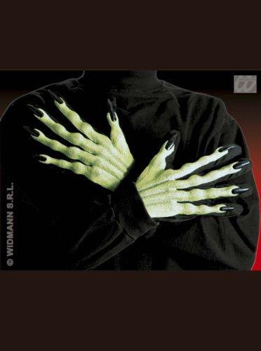 Generique - 3D Schwarze Hexe Handschuhe (Halloween Spiele Online Für Erwachsene)