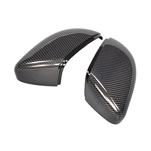 JCSPORTLINE Karbonfaser Spiegel umfasst die Kappen für Golf 6 2010-2013