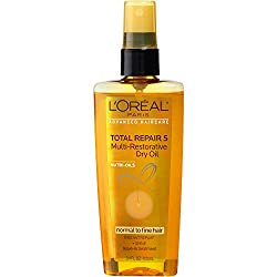 LOreal Paris Advanced Haircare Total Repair 5 Multi-Restorative Dry Oil 3.4 FL OZ