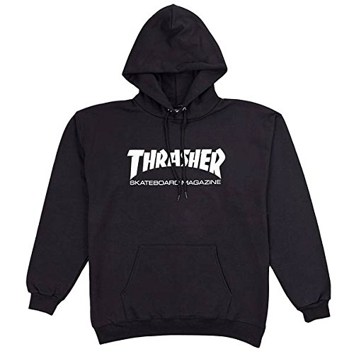 Thrasher Hoody - Sweat a capuche homme - Noir - S