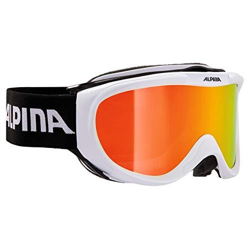 ALPINA Skibrille Free Spirit HM, White S2
