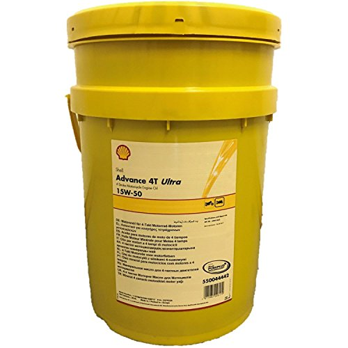 Shell 20 Liter Advance Ultra 4T 15W-50 für alle modernen 4-Takt-Motorräder - Motorrad Shell öl