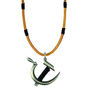 Bico Raw Revolution Anhänger & Braun Leder Halskette (ra2p6b)–Sie haben die Mittel zu ändern