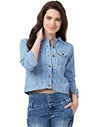 FurryFlair Full Sleeve Solid Women's Denim Jacket